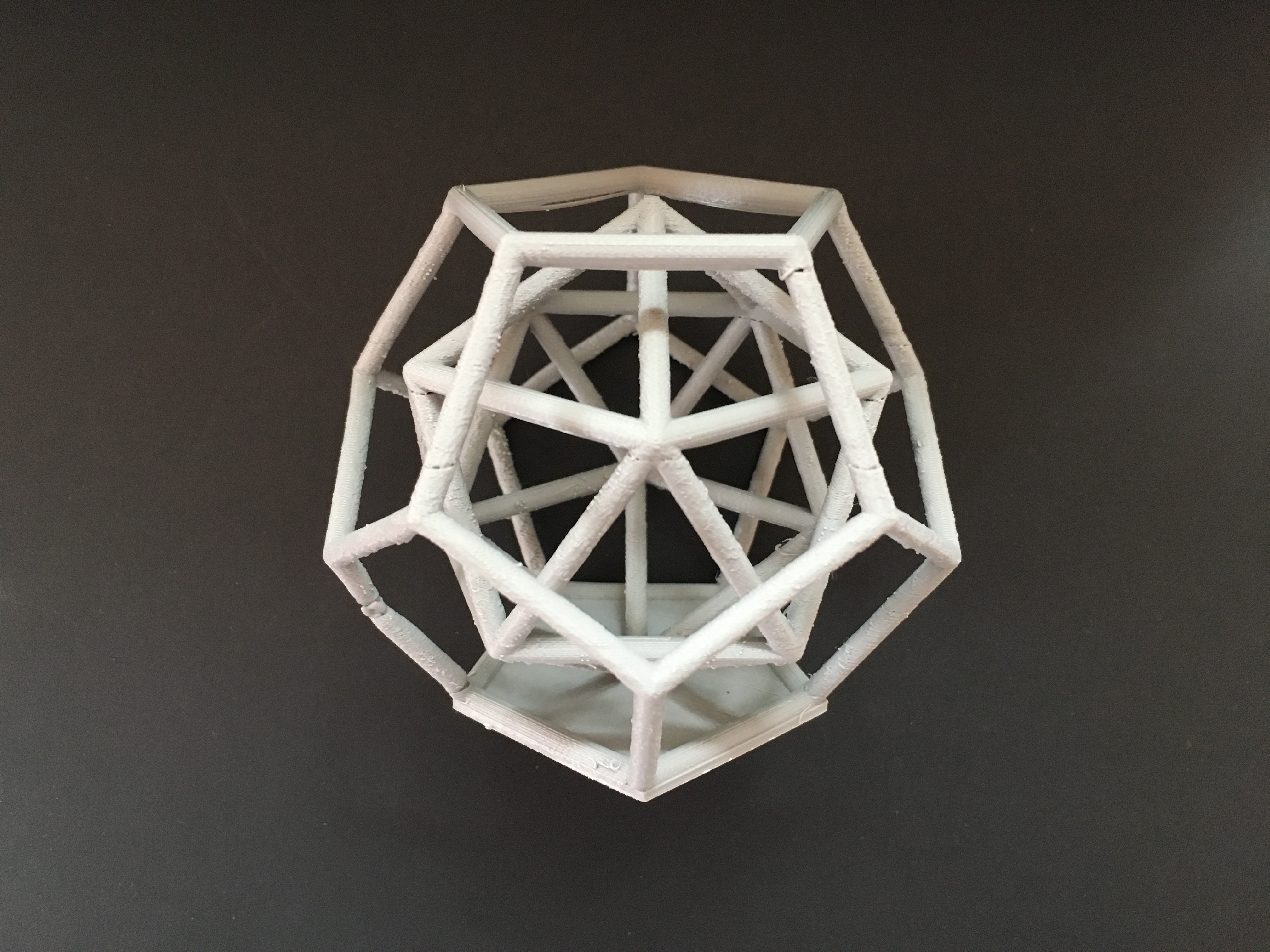 Dodecahedron 3D print